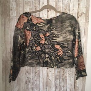 Tracy Reese lab for Anthropologie silk crop top